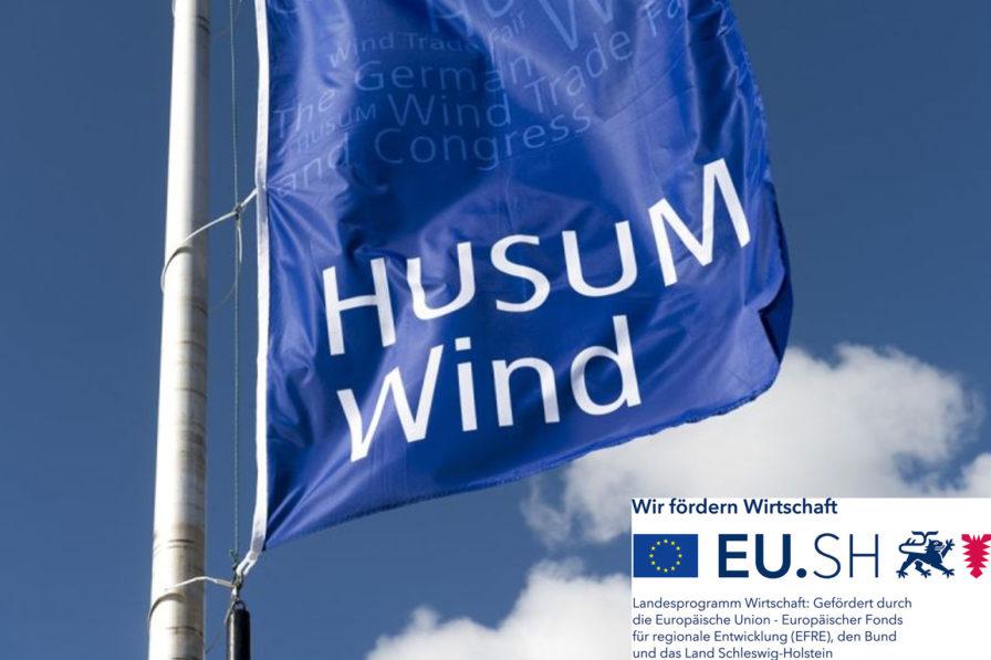 Flagge von der Messe Husum Wind 2021